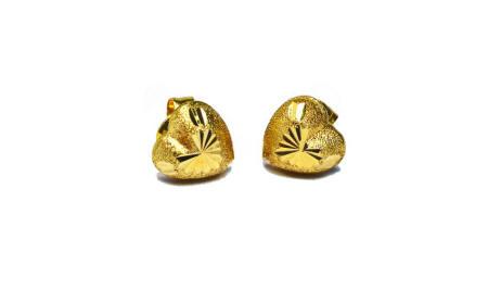18k gold stud earrings950