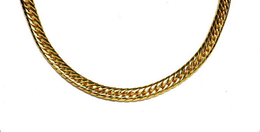14 Baht Miami Cuban 96.5% solid core gold links 25""