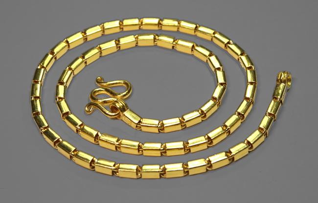 Thai Baht gold chain 5 Baht