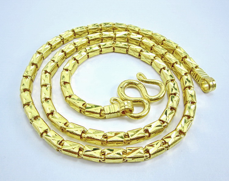 Thai Baht Bar link 10 baht chain necklace
