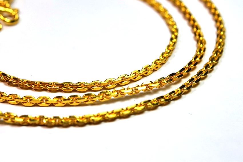 2 Baht 23k gold Anchor Link Chain